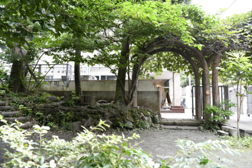 あけびの庭